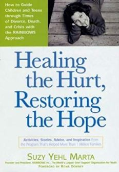 Healing The Hurt, Restoring The Hope